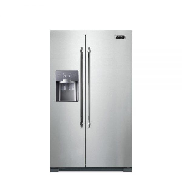 یخچال فریزر ساید بای ساید لوفرا مدل GFRS619/O 804