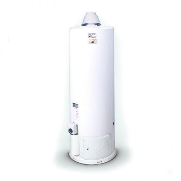 آبگرمکن گازی 110 لیتری گرمان گاز الکترواستیل استوانه ای زمینی ایستاده
