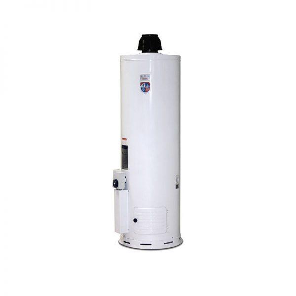 آبگرمکن گازی 200 لیتری جهان افروز مدل JA 200 ایستاده زمینی 60 گالنی