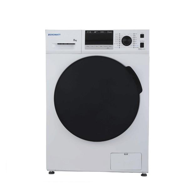 ماشین لباسشویی 8 کیلویی 8214 سفید زیرووات