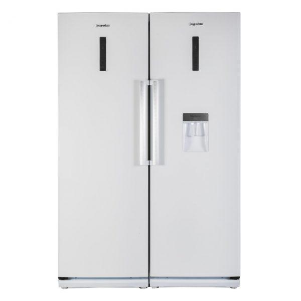 یخچال و فریزر دوقلوی دیپوینت مدل D4 ( سفید )