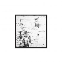 تابلو نقاشی آرام در بیشه زار تولیکا