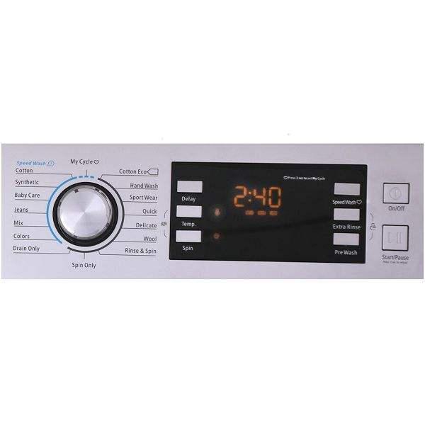 ماشین لباسشویی کرال مدل MFW 28404 ظرفیت 8 کیلوگرم