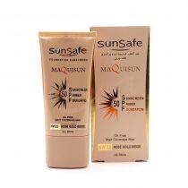 ضد آفتاب کرم پودری و پرایمری سان سیف N20 ( بژ رزگلد)