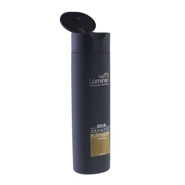 شامپو لامینین مناسب موهای آسیب دیده حجم 200 میلی لیتر