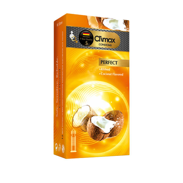 کاندوم کلایمکس مدل PERFECT بسته 12 عددی