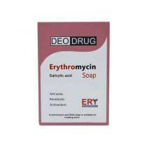 صابون ضد آکنه دئودراگ مدل Erythromycin 490 وزن 90 گرم