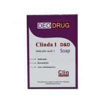 صابون شستشو دئودراگ مدل ClindaMycin وزن 90 گرم