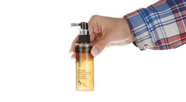 محلول تقویت مو گیاهی لامینین حجم 75 میلی لیتر