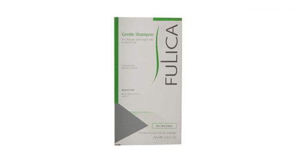 شامپو ملایم فولیکا جهت مصرف روزانه مخصوص موهای حساس و شکننده حجم 200 میلی لیتر