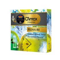 کاندوم کلایمکس مدل pleasure بسته 3 عددی