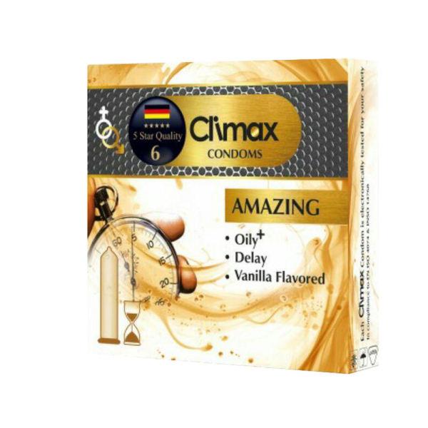 کاندوم کلایمکس مدل AMAZING بسته 3 عددی