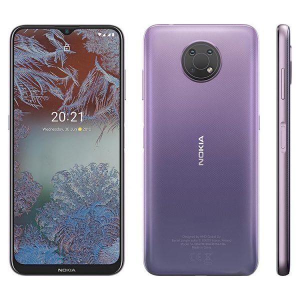 گوشی موبایل نوکیا مدل G10 TA-1334 دو سیم کارت ظرفیت 64 گیگابایت همراه با رم 4 گیگابایت
