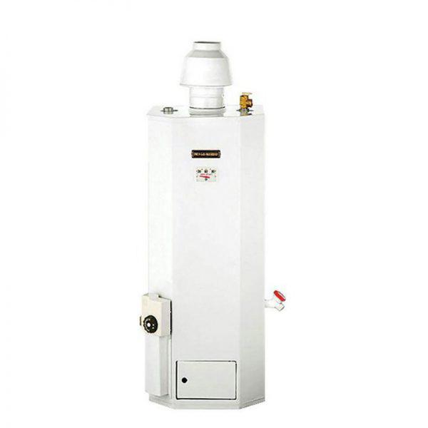 آبگرمکن گازی یخچالی ایمن گاز مشهد 40 لیتری مدل آسایش B